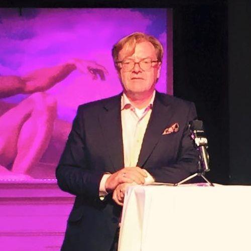 MANEO Awards an Maren Kroymann - Begrüßung durch Andre Schmitz, Berliner Kulturstaatssekretär a.D.