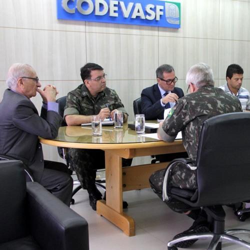 Baixar Boletim: Exército Brasileiro e Codevasf discutem parceria na revitalização do São Francisco