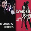The Wallflowers Vs David Guetta ft Usher - Without Heroes (Mashup)