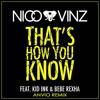 Nico & Vinz Ft. Kid Ink & Bebe Rexha - That's How You Know (Anvio Remix)
