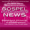#GENMTER Gospel Encyclopedia New Music Tuesday Entertainment Report w/ @MrAwarren - 2015-09-15