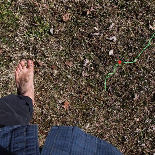 A barefoot walk...