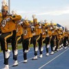 Alabama State Mighty Marching Hornets Band 2014 Marching Into Pep Rally