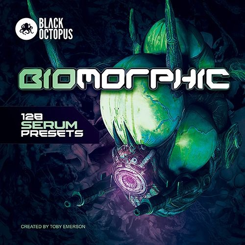 Black Octopus – Biomorphic: 128 Serum Presets