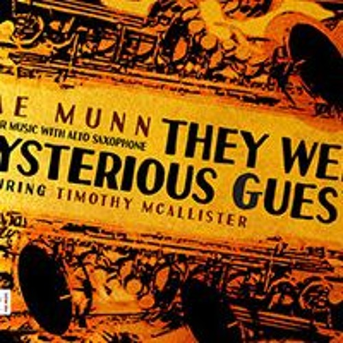 Navona CD: They Were Mysterious Guests, featuring Timothy McAllister