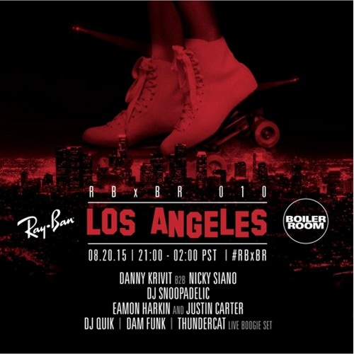 Dam Funk Ray Ban X Boiler Room 010 Los Angeles Dj Set By