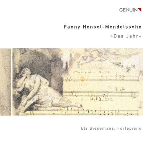 Fanny Hensel-Mendelssohn - Das Jahr: Juni (1st version) on Pleyel piano 1850