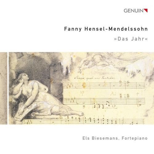 "Fanny Hensel-Mendelssohn - ""Il saltarello romano"" on Pleyel piano 1850"