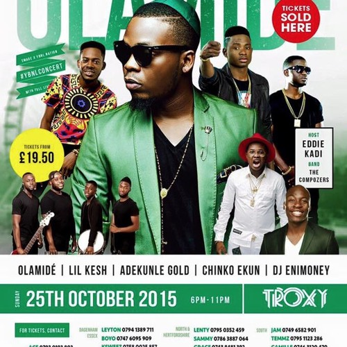 OLAMIDE YBNL TOUR CD OCT 25TH MIXED BY @DEEJAY_SEAN