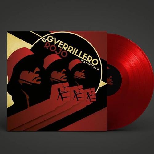 EL GUERRILLERO ROJO - MANIFIESTO LP AT-008 ATEMPORAL RECORDS
