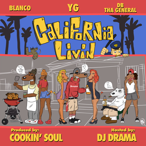 YG x Blanco x DB tha General - Block Party (prod. Cookin Soul)