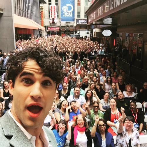 INTERVIEW: Darren Criss Talks Elsie Fest And American Horror Story