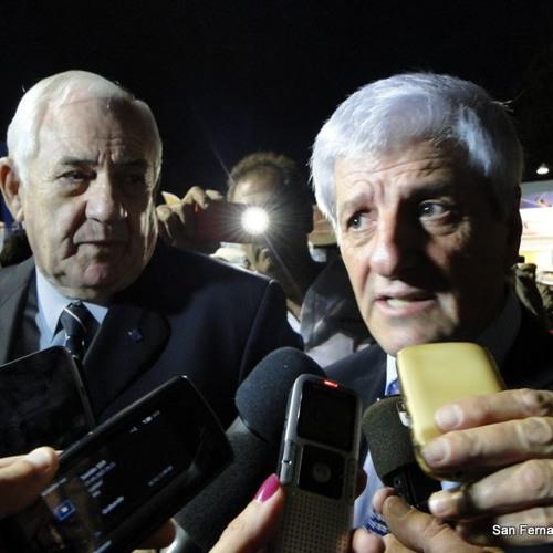 Andreotti y Mooney en el Salón Náutico