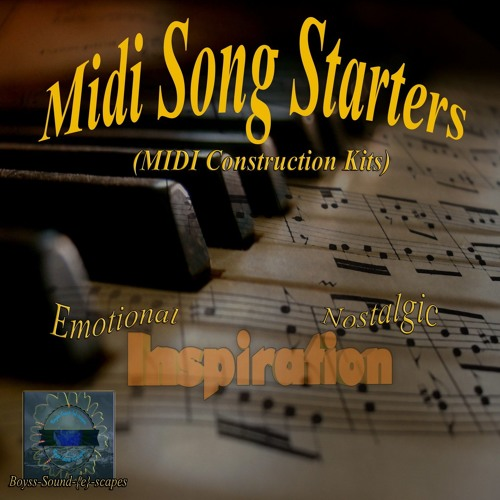 Midi Song Starters (MIDI Construction Kits) Preview (all 5 Kits)