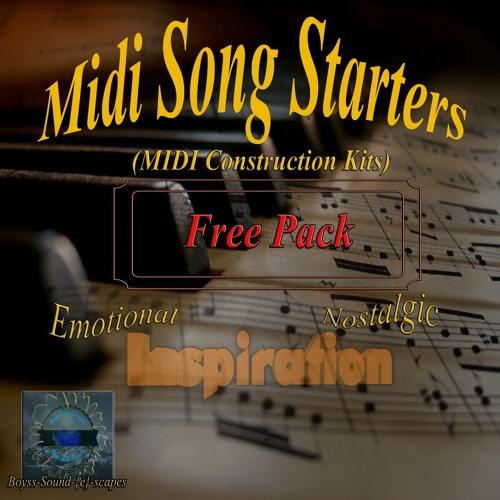 Midi Song Starters  FREE Pack Preview (3 Variations)