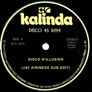 Disco N'Illusion (Jay Airiness Dub Edit) by Jay Airiness