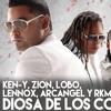Arcangel  Zion   Lennox  RKM  Ken - Y Lobo - Diosa De Los Corazones (Audio Oficial) La Formula Portada del disco