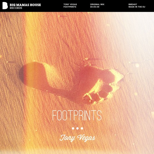 Tony Vegas - Footprints (preview)