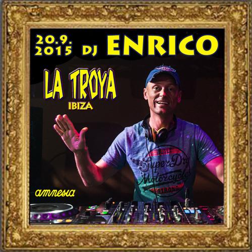 DJ Enrico-Live at La Troya-Amnesia 2015 Closing Party 1:30 - 3:00am
