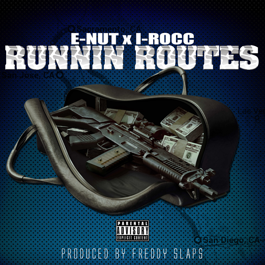 E-Nut & I-Rocc - Runnin Routes (Prod By Freddy Slaps) [Thizzler.com Exclusive]
