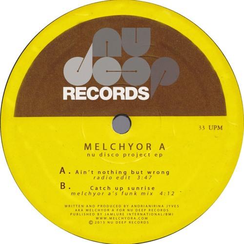 Melchyor A - Nu Disco Project EP