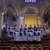 Hymn - O Worship The King, sung by Priory Singers (Belfast) in Tewkesbury Abbey