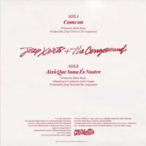 Josep & The Congosound - Això Que Sona És Nostre! (Jules Tropicana Cover)