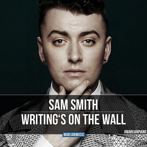 Sam Smith - Writing's On The Wall - James Bond 007 Spectre (Piano Cover By Marijan)