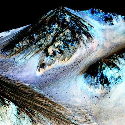 On Mars, Signs of a Wetter World