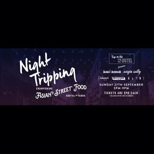 Jmcee @ Night Tripping | St. Kilda street food festival | Spring 2015