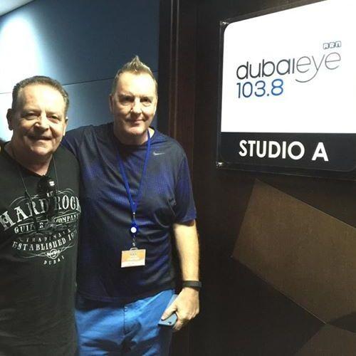 Jason Lumber Interviews Phil Pendlebury on Dubai Eye Radio