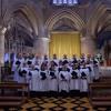 Hymn - O Praise Ye The Lord, led by Priory Singers (Belfast) in Tewkesbury Abbey
