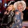 Miley Cyrus Feat Madonna - Dont Tell Me We Cant Stop MTV Unplugged Performance