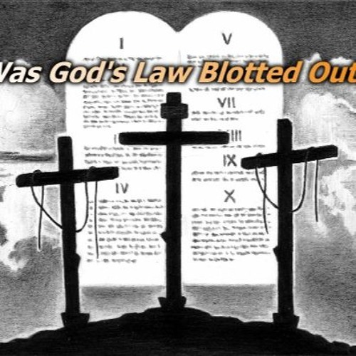"AT-4: ""Was God's Law Blotted Out?"""