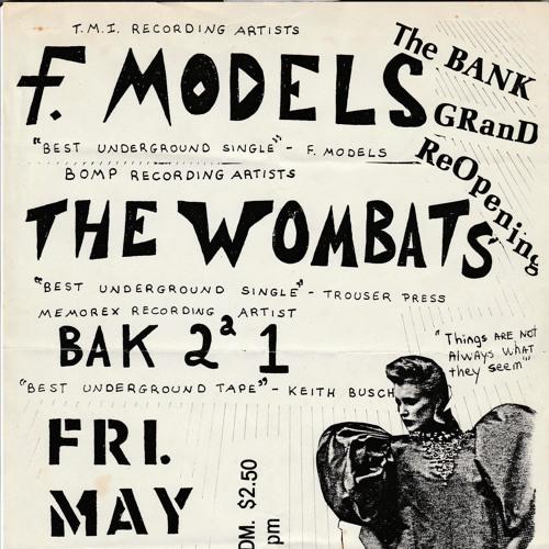 F-Models @ Electric Banana - 6/12/82
