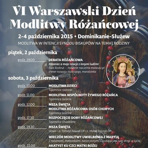 VI Warszawski Dzień Modlitwy Różańcowej