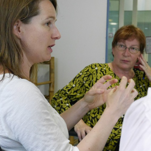 Interview instead of PowerPoint - Anne & Carmen
