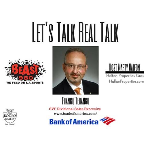 Bank of America SVP, Franco Terango Shares His Insight