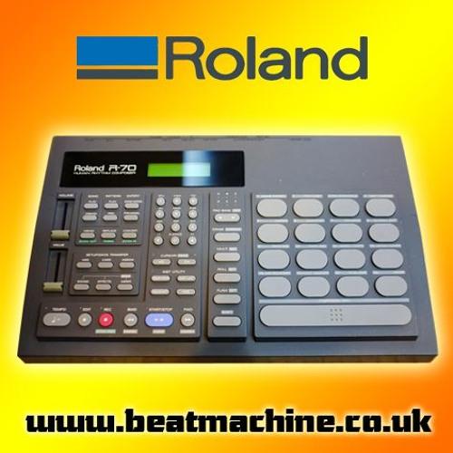 roland r70 drum machine sample pack by beat machine drum packs free listening on soundcloud. Black Bedroom Furniture Sets. Home Design Ideas
