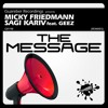 Micky Friedmann & Sagi Kariv Feat Geez - The Message  (Jackinsky Remix)REL DATE 6 Nov 2015