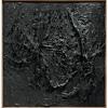Alberto Burri, Nero plastica (Black Plastic), 1963