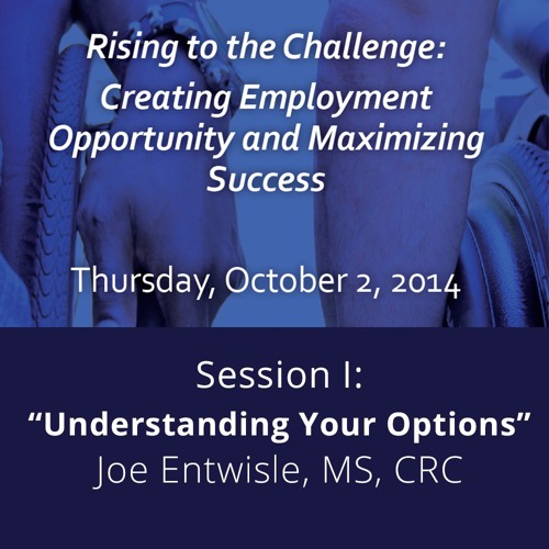 2014 SCI Consumer Conf. - Greetings and Session I: Understanding Your Options