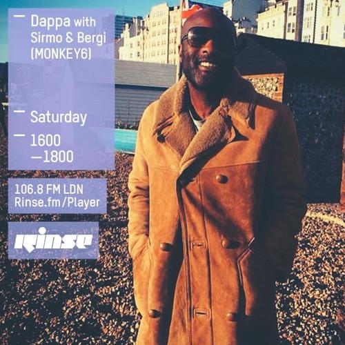 Rinse FM Podcast - Dappa w/ Sirmo + Bergi -  10th October 2015