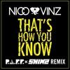 Nico & Vinz - That's How You Know (P.A.F.F. X SHIMZ Remix)