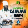 poster of Capleton Gimme Way Sept 2015 song
