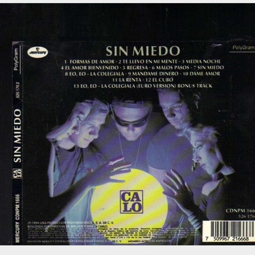 Calo Sin Miedo 1994 By User 485109360 Free Listening On Soundcloud