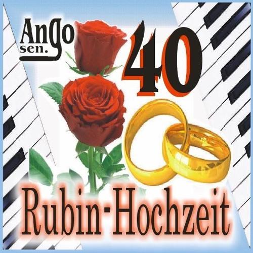 Karten Hochzeits Tag Rubinhochzeit 40 Hochzeitstag Hallmark
