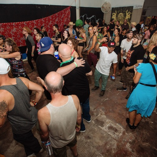 Mr. Annand live at Tropical 17-Year Anniversary Warehouse Jam, 10/9/15