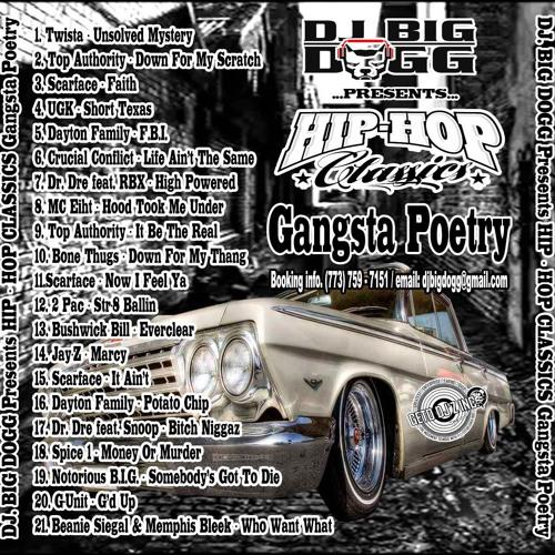DJ Big Dogg - Hip Hop Classics Gangsta Poetry