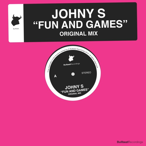 Johny  S - Fun And Games (Original Mix) PREVIEW